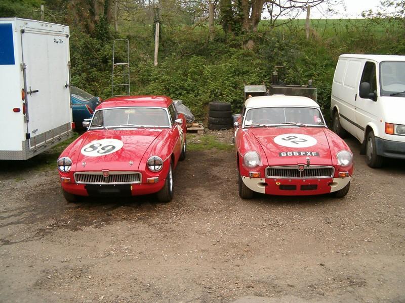 2 FIA MGB'S