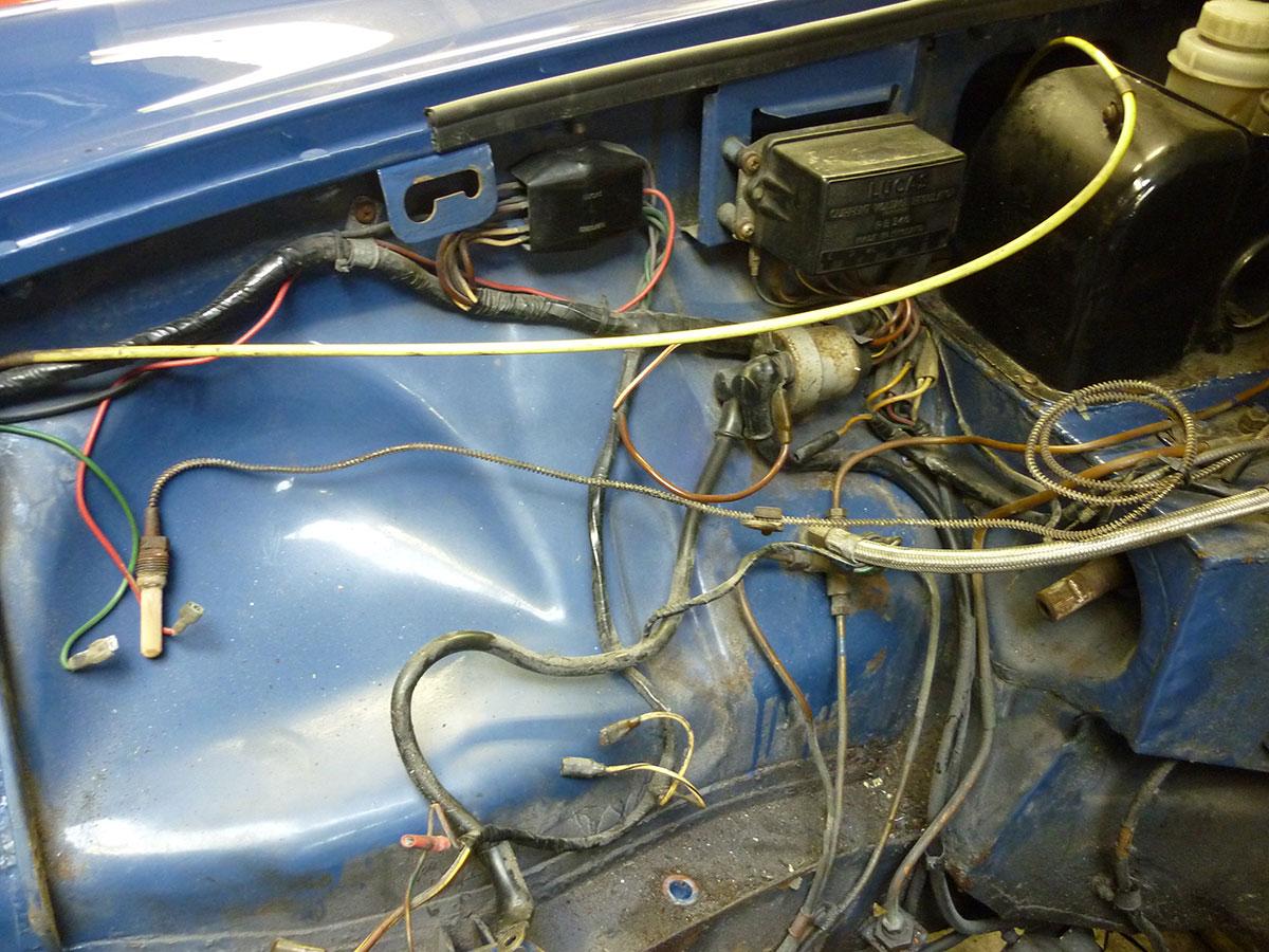 mgb engine wiring mgb auto wiring diagram database mgb wiring solidfonts on mgb engine wiring