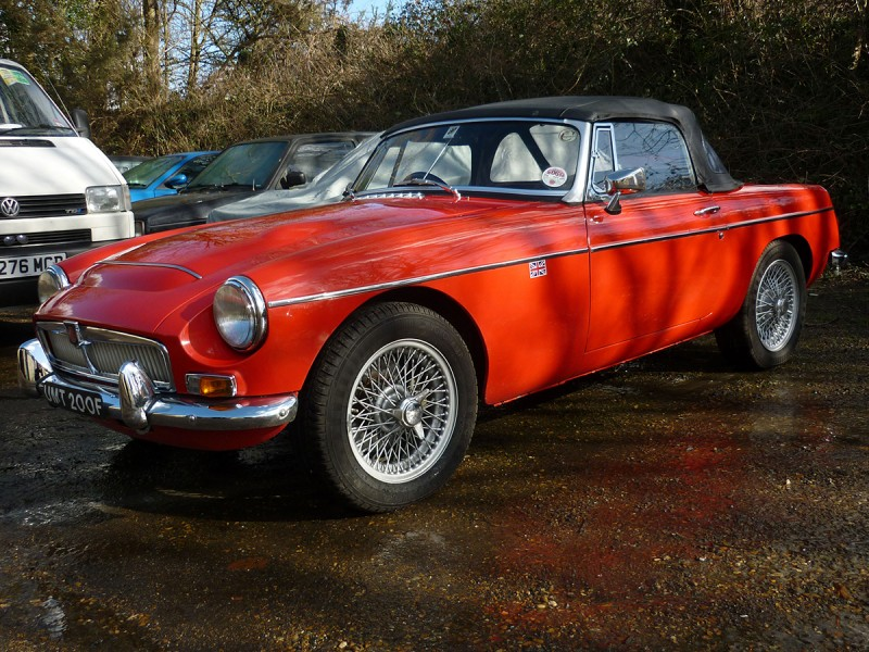 MGC Roadster Fast Road Car