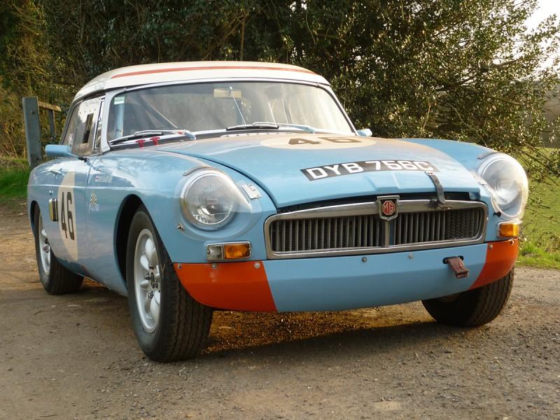 FIA MGB Iris Blue