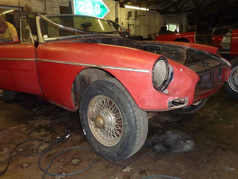 MGB Chassis No. 8 Full Restoration