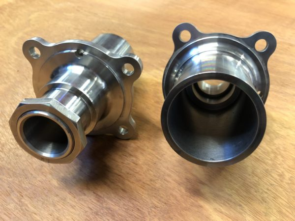 Brand new MGA/B banjo axle ends
